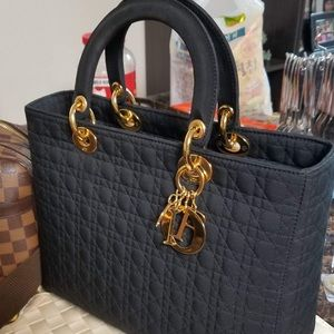 Christian Dior Authentic Large Lady Bag